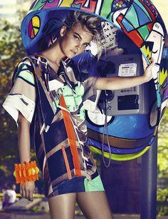 Conexão Fashion   Caroline Trentini   Fabio Bartelt #photography   Vogue Brazil September 2012