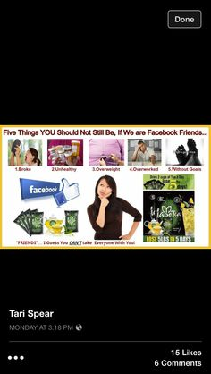Are you a pro at social media? Are you posting on FB, IG or Twitter most of the day? Would you like to make money while doing it? Join my team because social media is a huge part of our marketing. The other huge chunk is our fabulous products. Iaso tea is our flagship product. It is an organic tea that is made of 9 herbs that aids in detoxing and ridding it of toxins and parasites. If you are ready to start getting paid this week go to www.teniciaingram.com and click join and use rep…