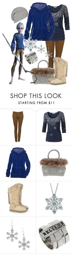 """""""Jack Frost"""" by shelby-berti ❤ liked on Polyvore featuring Witchery, Fat Face, American Eagle Outfitters, FixDesign, Australia Luxe Collective, Reeds Jewelers, AllSaints, jack frost and rise of the guardians"""