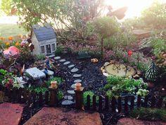 Fairy Garden Ideas  http://fairytalegardens.com.au/creating-a-fairy-garden