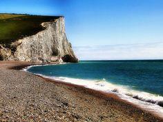 Seven Sisters Chalk Cliffs, England