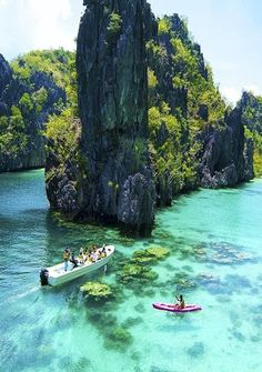 Other worldly in the Philippines. Explore spectacular natural beauty around the world! TravelingUnleashed.com