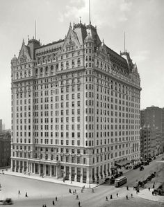 Plaza Hotel, New York, 1910