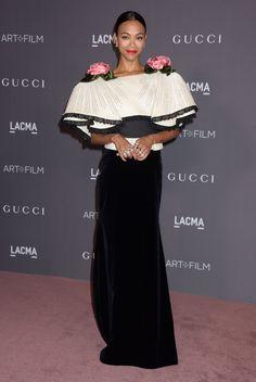 Zoe Saldana – 2017 LACMA Art and Film Gala in Los... - Daily Actress