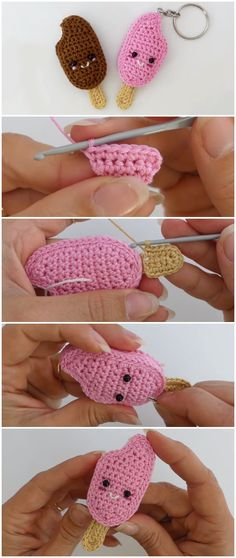 Crochet Delicious Ice Cream
