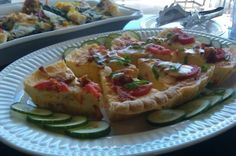 Applewood Smoked Bacon, Cheddar, and Tomato Quiche by Chef Brian; Loxley, AL