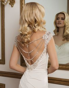 Create a unique bridal look by adding a beaded belt, a tulle veil or a lace jacket to any Justin Alexander wedding dress in the collection. Bridal Dresses Online, Bridal Gowns, Wedding Gowns, Ball Dresses, Ball Gowns, Glamour Hollywoodien, Hollywood Glamour Wedding, Justin Alexander Bridal, Sophisticated Bride