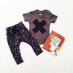 The coolest threads from @huxbaby for your little dude! Only a few of these left in store! ✖️✖️✖️ #huxbaby #sparrowcouture #huxbabymoment #organicbaby
