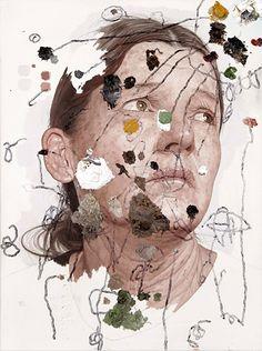 Portraits by Arizona based artist Colin Chillag #art