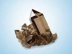 Quartz var.Smoky - Kleines Furkahorn, Wallis, Switzerland Size: 8.0 x 6.0 x 5.5 cm