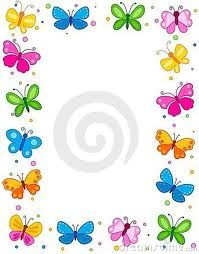 bordes y marcos con mariposas - Buscar con Google Boarder Designs, Page Borders Design, Butterfly Clip Art, Butterfly Frame, Borders For Paper, Borders And Frames, Envelopes, Book And Frame, Cute Stationery