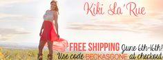 Kiki LaRue Giveaway!!!  4  $50 GC!!