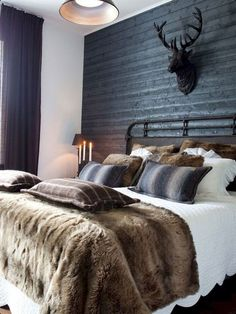 Trendy Farmhouse Master Bedroom Design Ideas – Best Home Decorating Ideas Bedroom Green, Cozy Bedroom, Bedroom Apartment, Home Decor Bedroom, Bedroom Ideas, Bedroom Designs, Bedroom Furniture, Winter Bedroom Decor, Scandinavian Bedroom