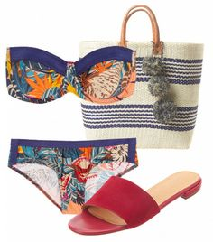Be a beach diva, pack these #fashion essentials & don't forget that #SPF! Via @Alexandra M What Wear