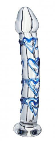 OhJoyToys.com Asana Glass Dildo #SexToy #Glass #Dildo