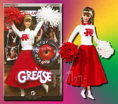 sandy grease barbie doll