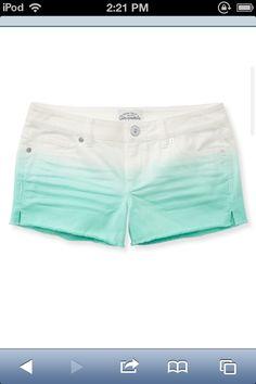 OMG!!!cute Aeropostale shorts.   :~)❤❤love them