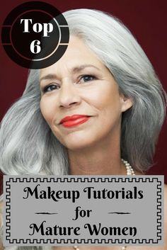 Image Credits: Beauty.About When it comes to makeup for women over 50, some of the rules no longer apply. The makeup routine you've been used decades ago, sudde