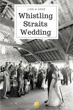 Lisa & Jake's simple and sweet Spring wedding at Whistling Straits.  #whistlingstraitswedding #kohlerwedding