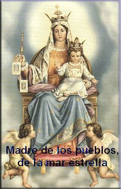 Novena To Our Lady Of Mount Carmel Recited From: July Through July - Feast Day: July Jesus And Mary Pictures, Mary And Jesus, Blessed Mother Mary, Blessed Virgin Mary, Catholic Art, Catholic Saints, Roman Catholic, Religious Images, Religious Art