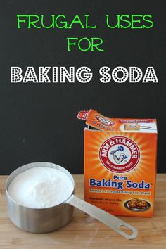 There are so many ways to use baking soda and it is sooo inexpensive!  - 10 Frugal Uses for Baking Soda  View post on BargainBriana.com