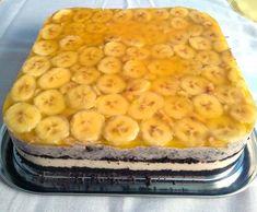 Prăjitura Banoreo - fără coacere, rețetă rapidă și delicioasă Oreo, Macaroni And Cheese, Cheesecake, Mai, Ethnic Recipes, Food, Banana, Mac And Cheese, Cheesecakes