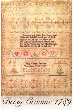 Betsy Croome 1789