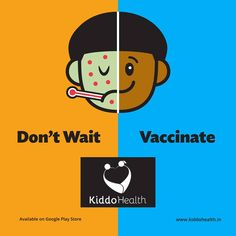 Kiddo Health medical app helps you to look after you child's #health.It is designed to make you remember the #vaccination dates digitally without any fail.#KiddoHealth #MedicalApp #ChildVaccination