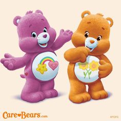 New Care Bears: Best Friend and Friend Bear