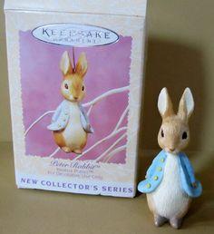 Hallmark Collector's Series Ornament 1996 1 Beatrix Potter's Peter Rabbit