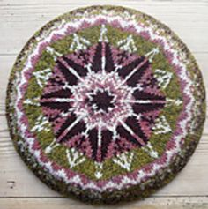 This is a basic 25cm (10 inch) eight-point, traditional tam pattern for you to add your own designs. It was inspired by Sheila McGregor's 'Traditional Fair Isle Knitting' where she has pages and pages of beautiful designs for colour-work but no actual pattern for a tam to use them on.
