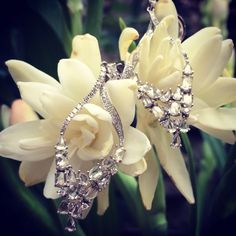Zoe diamond earring add some sparkle to your day