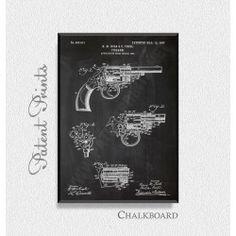 Kolb snd Foehl Revolver 1907 Patent Print