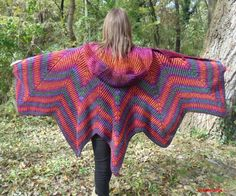 Check out this item in my Etsy shop https://www.etsy.com/listing/486815185/handknitted-ponchoshawl-with-big-hood2