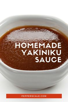 If you like your barbecue sauces a little sweet, a little fiery, and a bit exotic, try crafting up a homemade yakiniku sauce. #recipe via @pepperscale