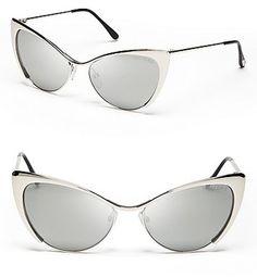 97f4b1c78be Nastasya Cat Eye Sunglasses - Lyst Mother s Day