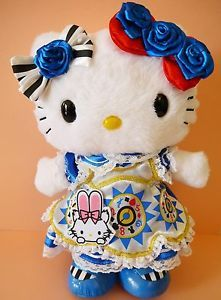 New Hello Kitty 40th Anniversary Alice Japan limited Sanrio official Plush toy