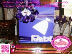 #buzón para para fiestas #buzón #buzón de madera #mailbox for money envelopes #mailbox #wood mailbox #morado y blanco #purple and white #handmade #hecho a mano Siguenos en: Facebook/estrella.invitaciones e Instagram.... Follow us at Facebook/estrella.invitaciones & Instagram..
