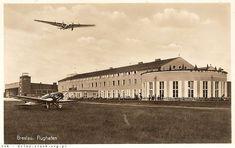 Port lotniczy Wrocław Gądów (Breslau) 1937 rok