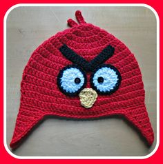 Angry Birds hat! @Lucy Hellein 