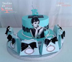 Tarta Desayuno con Diamantes- Tiffany's Breakfast cake www.tartasdelunallena.blogspot.com