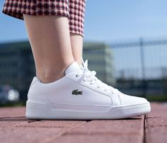 lacoste white shoes challenge 119 - Google Search All White Shoes, Lacoste, Challenges, Sneakers, Google Search, Fashion, Tennis, Moda, Slippers