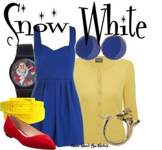 Inspired by Snow White from Disney's Snow White and the Seven Dwarfs.