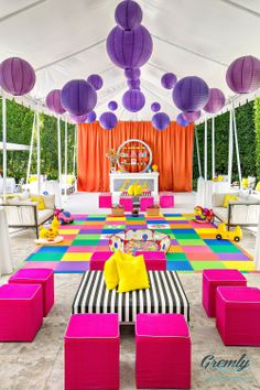 #Colourful #Party ♥ Andy Warhol Theme