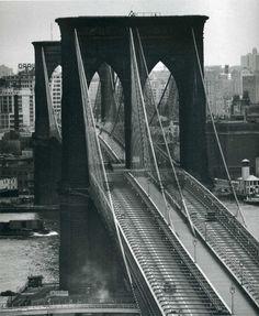 Andreas Feininger photograph Brooklyn Bridge