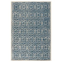 I pinned this Cambridge Rug in Navy Blue & Ivory from the Safavieh Rugs event at Joss and Main!