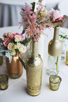 Rustic Wedding Centerpieces - Brilliant and stunning rustic setting. cheap rustic wedding centerpieces wine bottles decorative example id 7294487789 presented on this day 20190101 , Summer Wedding Centerpieces, Wedding Decorations, Wedding Crafts, Decor Wedding, Wedding Tables, Mansion Wedding Decor, Engagement Party Centerpieces, Pink Decorations, Bottle Decorations