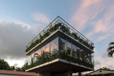 The Sun Path house by architect Christian Wassmann takes advantage of Miami's sun to bring liveliness to the structure.