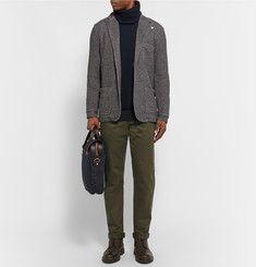 John Smedley - Merino Wool-Blend and Sea Island Cotton Rollneck Sweater