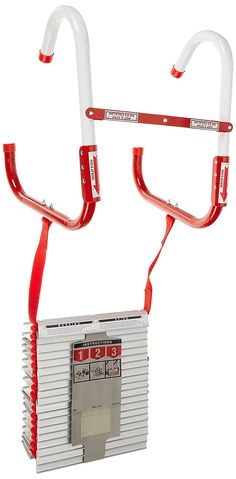 2 Story Fire Ladder 13 Foot Tangle Free Easy to Use Camping Hunting Survival